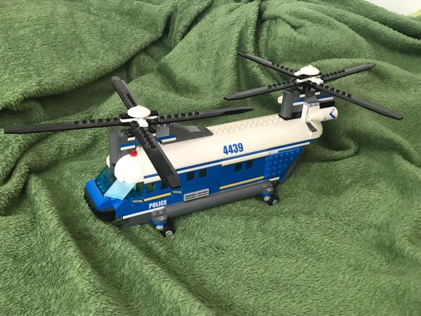 Lego Police Heavy Duty Helicopter 0