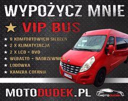 Wynajem VIP BUS ! 9 osobowy 2xKLIMA 2xLCD ! DVD ! Wypożyczalnia