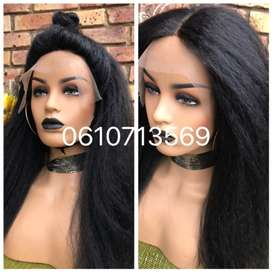 Natural hair lace front wigs and more