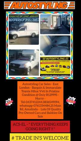 Autostyling Car Sales  East London - 2006 Toyota Hilux 2.0 Vvti  Lwb