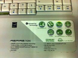 "Матрица 17"" Acer Aspire 7520G | 1440 x 900 | 30 pin CCFL - 900 руб."