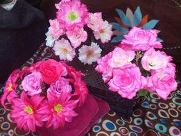 Искусственные цветы букет