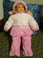 Продам детский велюровый костюм ТМ ЛЯ-ЛЯ (р. 74-48)