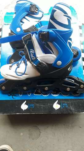 Kids inline skates 2 pairs very good and  clean condition