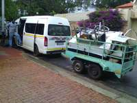 Image of Bakkie and quantum hire all over south Africa and across the country