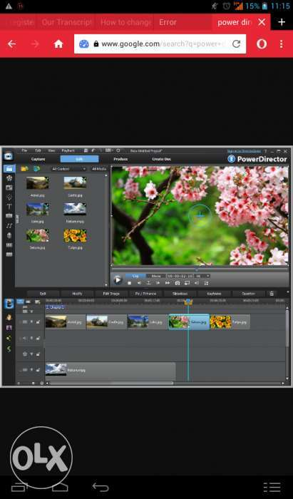 Cyber link power director video editor OS 0