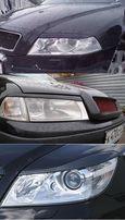 Реснички Skoda Octavia A5 A4 Tour Накладки на фары Октавия Тур А5 А4