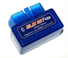 Автосканер ELM327 Bluetooth V1.5, адаптер OBD2 II