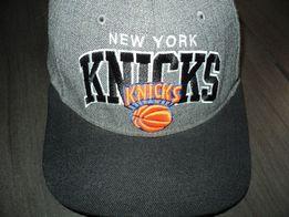 NY Knicks NBA Mitchell & Ness wełna czapka snapback z daszkiem jak NEW