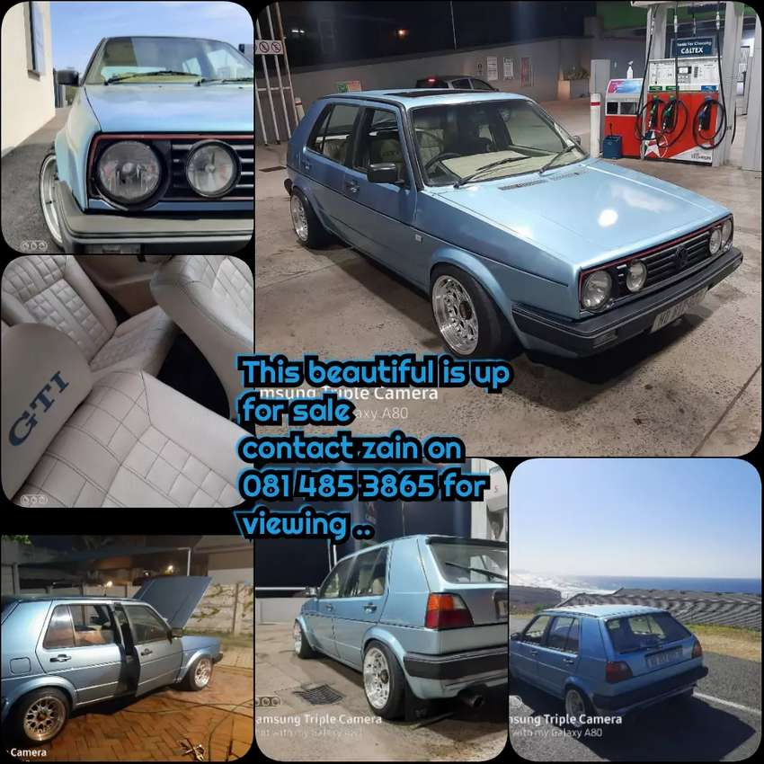 MK 2 GTI this beautiful car is up for sale 0
