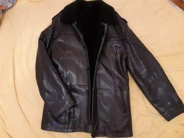 Продам куртку кожаную зимнюю (дубленку).