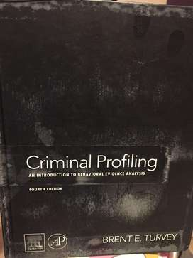 Criminal profiling text book