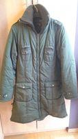 Kurtka/ płaszcz ciemno zielona dla dziewczynki
