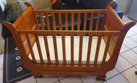 Strong wooden Cot