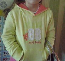 Свитшоп свитерок для девочки 5-7 лет.