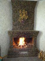 Камины, печи, мангалы. Прочистка дымоходов и вент.каналов.