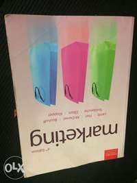 Image of Second hand marketing textbook for sale