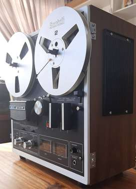 Akai 1721W Open Reel Tape Recorder. Excellent working cond! (Neg.)
