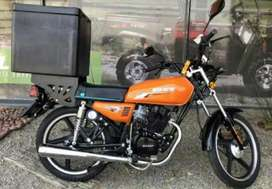 IM LOOKING FOR LICENSED AND EXPERIENCED MOTORBIKE DRIVER