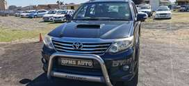 2012 Toyota Fortuner 2.5 Diesel D4D Manual