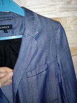Marynarka damska, żakiet Lindex rozm.40/L/42 z cienkiego jeansu