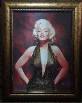 Мэрилин Монро. Картина из бисера