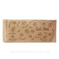 "Бумага упаковочная Уголок бумажный ""Fast food"" (200*85мм 500шт) (44)"