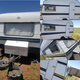 Gypsey 3 caravan 1973 model for sale for R 8000 ..