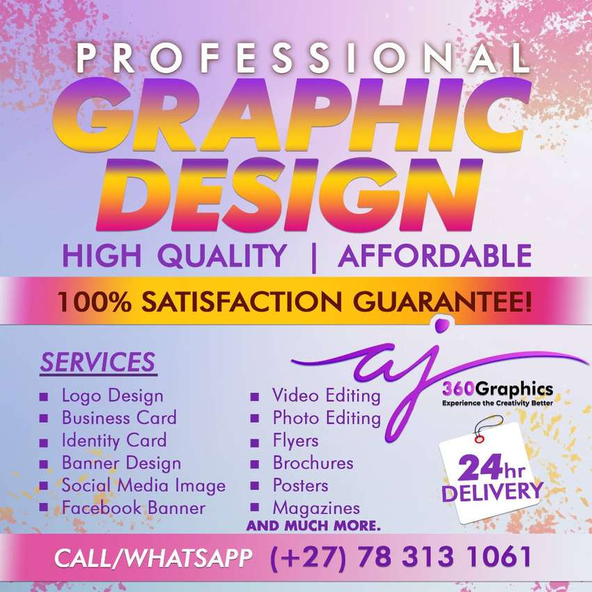 All type of graphic Design