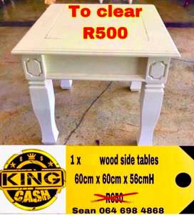 Wiod side table