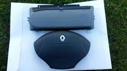 Air bag x2 komplet Renault megane scenic clio Kangoo