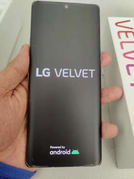 Lg velvet single sim R7500 comes with box and all accessories