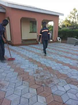 DOMESTIC AND INDUSTRIAL BRICK PAVING