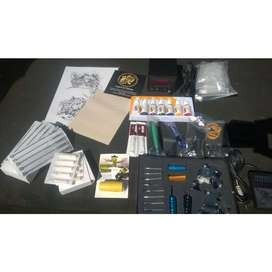 Tattoo Complete Kit - 2 Machines!! Carry Case Included!!