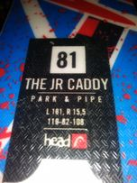 Narty head the jr caddy