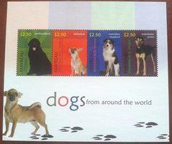 Znaczki pocztowe - Mayreau - psy