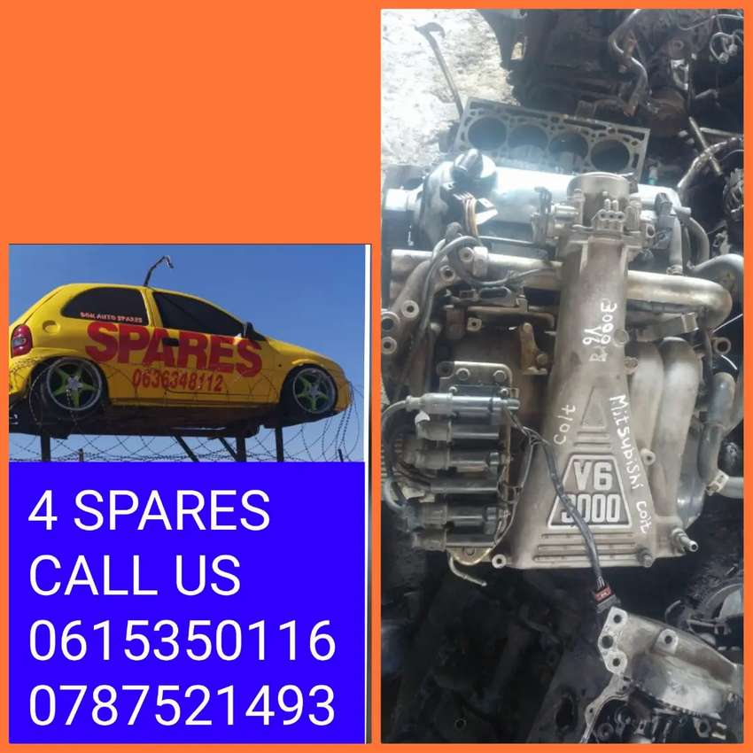 Mitsubishi colt 3.0 Lt V6 engine spares available call us
