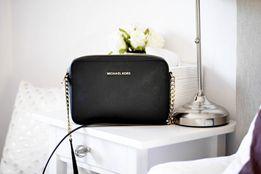 Nowa torebka Michael MK kors czarna damska złoto z torba papierowa LV