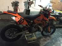 Image of ktm 200 xcw