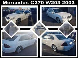 Mercedes C270 W203, 2003 spares for sale.