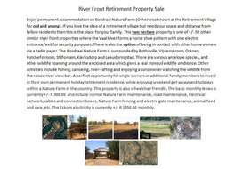 Large Riverfront Property