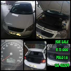 Polo 1.6 for sale. In good condition