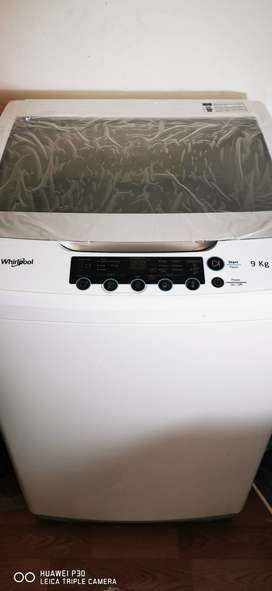 Whirlpool 9kg top loader washing machine
