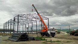 Строительство складов, ангаров, цехов, гаражей из металлоконструкций