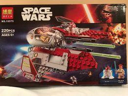Klocki Lego Styl Star Wars Interceptor Obi-Wana Gwiezdne Wojny Ruchomy