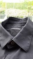 Koszula meska Zara M 38 czarna slim fit