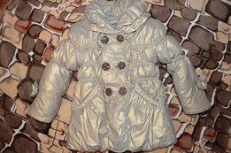 Куртка на девочку на 2-3 года, зимняя
