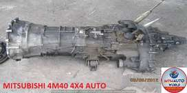 IMPORTED USED MITSUBISHI 4M40 4X4 AUTOMATIC GEARBOX FOR SALE AT MYM AU