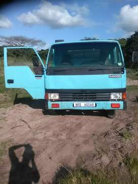 Engine gearbox,diff and complet tipper system 4ton in workng condition