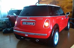 Mini Cooper RC Model olbrzymi 60 cm Bardzo Ładny do modyfikacji